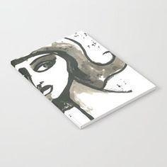Inked Notebook... Visit my society6 shop and check out some new products with my artwork. Link: https://society6.com/elenisart  And this Friday you get  FREE SHIPPING on Everything with Code FRIYAY  Start: Friday, 7/20/18 @ 12:00am PT  End: Friday, 7/20/18 @ 11:59pm PT