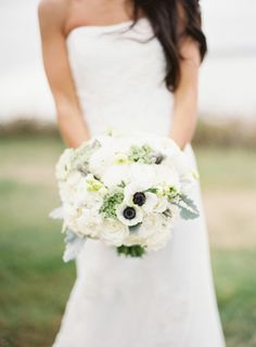 Gorgeous white blooms: http://www.stylemepretty.com/2015/03/03/modern-nautical-newport-wedding/   Photography: Judy Pak - http://judypak.com/