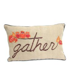 Fall For All Gather Pillow 12''x18''