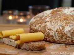 Eltefritt klibrød No Knead Bread, Scones, Good Food, Recipes, Recipies, Ripped Recipes, Healthy Food, Cooking Recipes, Yummy Food