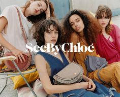 See By Chloe enlists a cast of fresh faces for its spring-summer 2018 campaign. Captured by Oliver Hadlee Pearch, models Julia Nicole Meyer, Nandy Nicodeme… Adele, All About Fashion, All Fashion, Nicole Meyer, Suitcase Bag, Summer Campaign, Fresh Face, See By Chloe, Spring Summer 2018