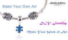 Jinglebell Jewelry-DIY making your own work of art. Beautiful bracelets for your loved ones. Click to check it!  #bracelets #jewelry #jewellery #charms #beads #diy #pandora compatible #discount #necklace #pendant #earring #rings