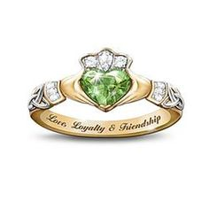 Reflections Of Ireland Ring  $99.00    #pintowingifts