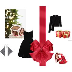 """""""Christmas"""" by louiserondeau on Polyvore"""