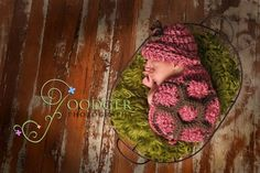 "Cute turtle crochet baby hat and ""shell"""