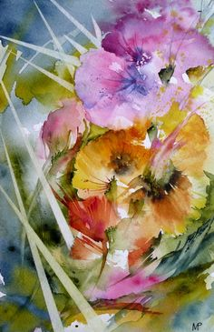 Veronique Piaser Moyen #watercolor jd