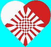 Danish woven heart by Eric Gimmerskov