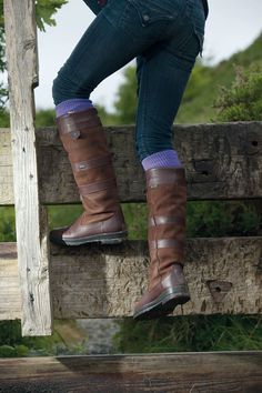 Shop our selection of high quality boots for women. Different styles and brands, like Dubarry, Le Chameau and RM Williams. Impeccable service from country clothing specialists, including free next working day UK delivery on orders over Country Boots, Country Wear, Country Attire, Country Fashion, Country Outfits, Country Girls, Farm Fashion, Dubarry Boots, Frye Boots