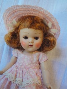VINTAGE 1952 STRUNG GINNY GLAD DOLL N/MINT #DollswithClothingAccessories