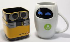 WALL-E and Eva mugs!