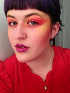 #makeup #inspiration #eyeshadow #contouring #pink