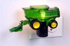 cute tractor night light..need to get since all his other lights went out.