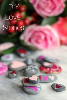 DIY Love Stones Tutorial with Crafting Connections | this heart of mine