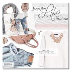 """Loving Life"" by kearalachelle ❤ liked on Polyvore featuring Violeta by Mango, Brunello Cucinelli and Daniella Lehavi"