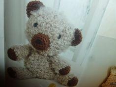 lavoretti creativi dall'uncinetto alla pittura: amigurumi schemi gratisi ad uncinetto - orsetto