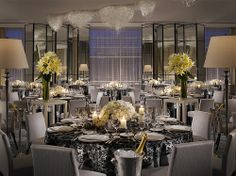 The St. Regis Mexico City—The Astor Ballroom with Banqueting Style