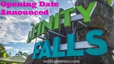 Opening Date Announced for Infinity Falls at SeaWorld Orlando