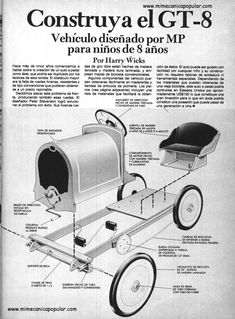 Cyclekart With Fenders Http Cyclekarts Com Html Pictures Soap Box Cars, Kids Workbench, Go Kart Parts, Diy Go Kart, E Motor, Karts, Derby Cars, Popular Mechanics, Pedal Cars