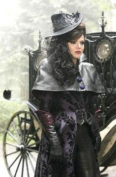 Evil Queen From Once Upon a Time  Very steampunk look.