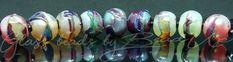 Glass Beads, Handmade, Hand Made, Crystal Beads, Craft, Arm Work