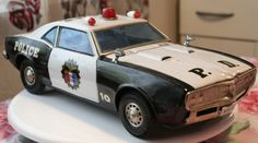 Tin Police Car