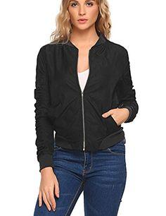 2eaba795778 Zip Front Bomber style jacket