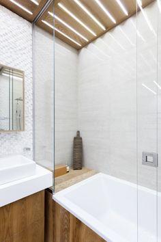 Монохромная квартира-шкаф стайной комнатой — The Village