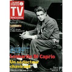 TV Magazine Ouest-France (n°16236) du 03/04/1998 - Leonardo Di Caprio -... [Magazine mis en vente par Presse-Mémoire]