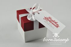 Stampin 'Up! born2stamp Explosionsbox - Greeting elements