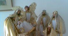 Blog, Painting, Saints, Births, Nativity Sets, Hand Art, Manualidades, Deko, Painting Art