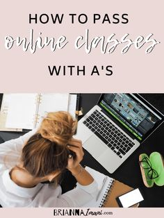 Don't know how to study when it comes to online school? Feeling a lack of motivation? Well you've come to the right place! Study, school, high school, college, online school, how to study, college classes, study help, virtual learning, student,