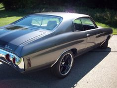 Revamped '72 Chevelle Back with a Vengence 1972 ss grey