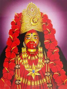Indian Goddess Kali, Tara Goddess, Indian Gods, Maa Kali Images, Durga Images, Mother Kali, Divine Mother, Maa Kali Photo, Kali Picture
