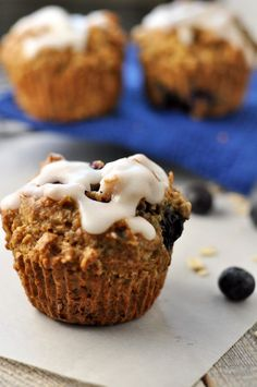 This recipe for dairy-free Blueberry Oatmeal Muffins is an updated ...