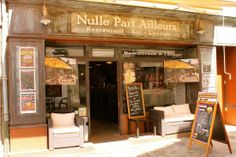 "Restaurant in Chateauroux - Indre dept.- Centre region, France (The name translates to ""no where else"") ....www.tripadvisor.co.uk"