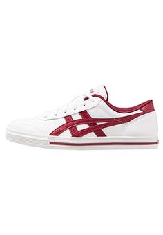 a8b3ed905cf9 Asics Tiger - AARON - Sneakers laag - white burgundy