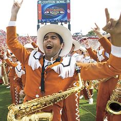Red River Rivalry: Texas/OU game in the Cotton Bowl....it's TRADITION!
