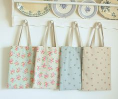 Simple spring totes for friends and me by Cottonblue