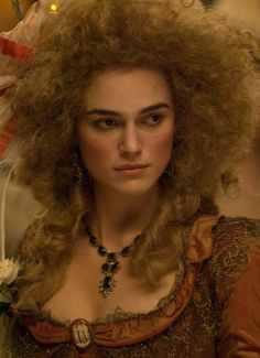 The Duchess (2008) by Saul Dibb with Keira Knightley as Georgiana, Duchess of Devonshire. #CostumeDesign: Michael O'Connor