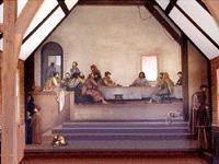 Church of the Frescoes, Ashe County, NC
