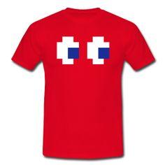 Camiseta hombre roja. Diseño Blinky. Komekokos Revival. Inutile T-Shirts