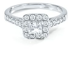 Mozart 1ct TW Diamond Engagement Ring in 18k Gold #pingagement and #helzbergdiamonds