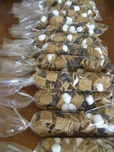 S'Mores Trail Mix for kids at school