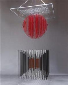 Cubo y Esfera Virtual - Jesus Rafael Soto 1923 - 2005