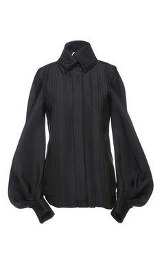 Bubble Sleeve Top by DICE KAYEK for Preorder on Moda Operandi