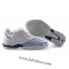 Adidas T-Mac 2 Tracy McGrady Shoes White Blue