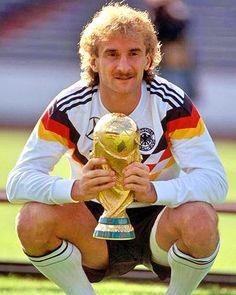 Rudi Völler Weltmeister 1990