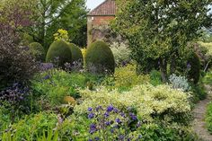 East Lambrook Manor - the wonderful garden created by Margery Fish and her husband, Walter. Photography by Jason Ingram