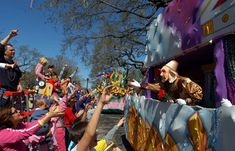 Mardi Gras parades in New Orleans! Check out the 2019 schedule here.