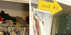 Tiny closet organization tips